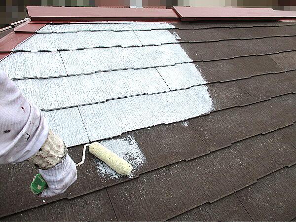 シーラー塗装 下塗り作業